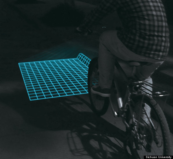 lumigrids bicycle lamp