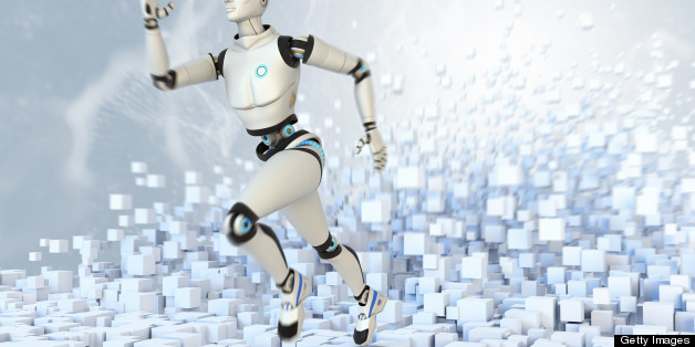 Running cyborg