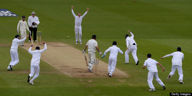 Graeme Swann took 10 minutes in the match