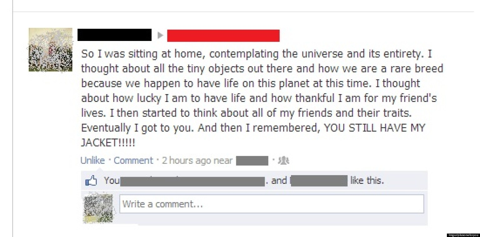 Funny Stuff To Say On Facebook Funny Breakup: ...