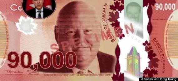 mike duffy fake bill 90000