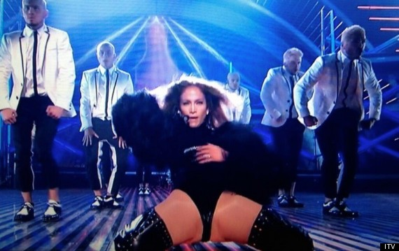 jennifer lopez britains got talent