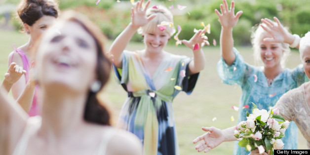 Bouquet Toss, Garter Belt Traditions Might Be Going Out Of Style