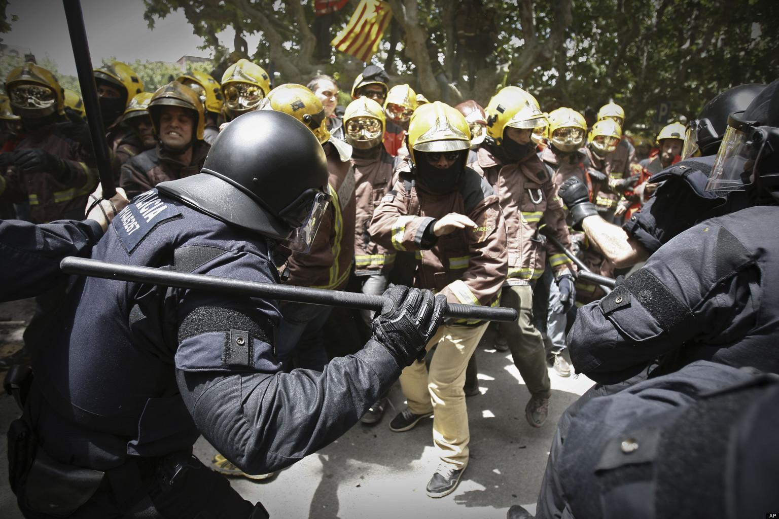 Firefighter cop jokes