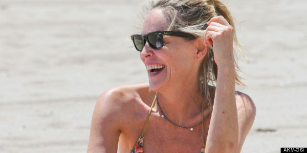 celebrity bikini bodies over age 50 photos huffpost