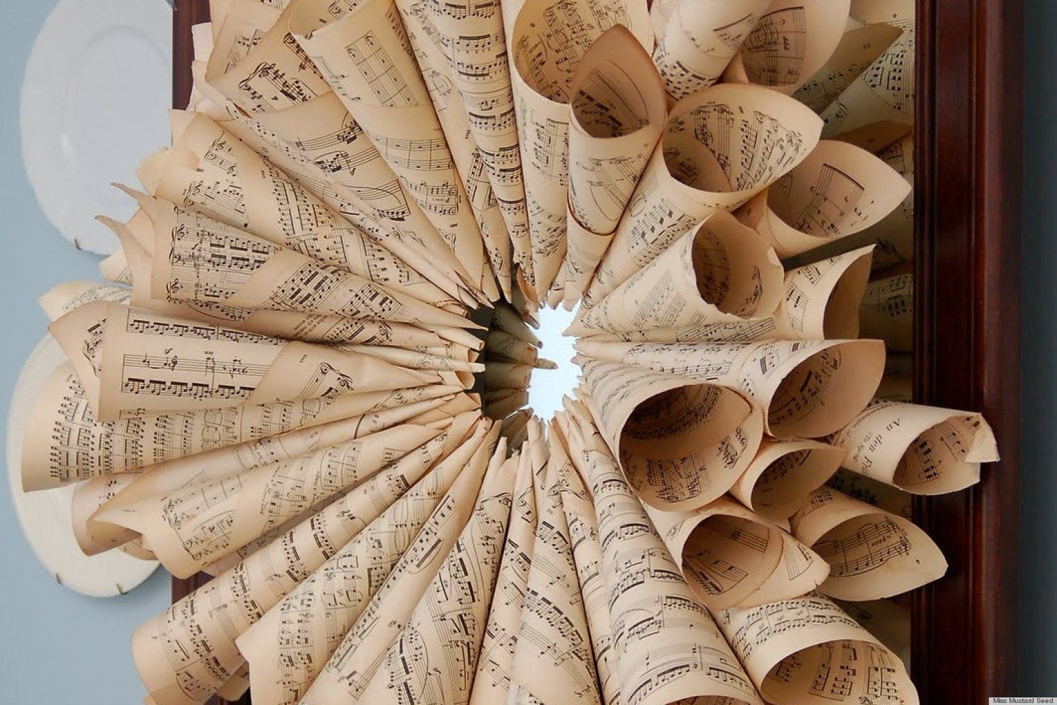 7 inventive sheet music crafts that will add harmony to