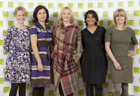 womens prize for fiction awards judges 2013