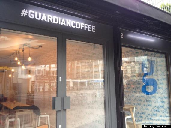 guardian coffee shop