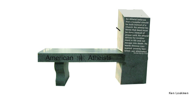 Public Atheist Monument Going Up Near Courthouse In Starke, Florida, Is Country's First