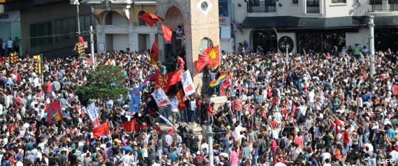 manifestations turquie