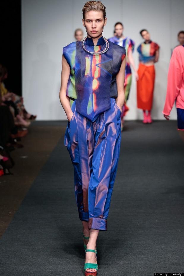 coventry university graduate fashion show 2013