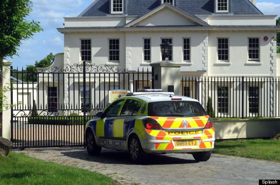 tulisa house police