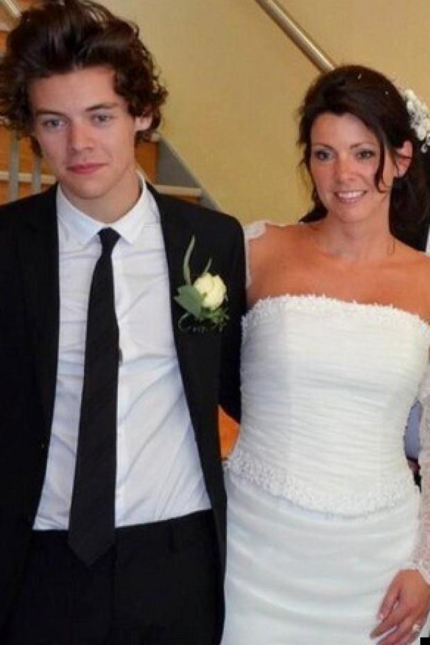 harry styles mums wedding