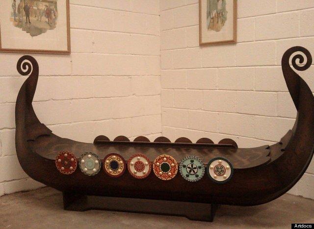 viking coffin