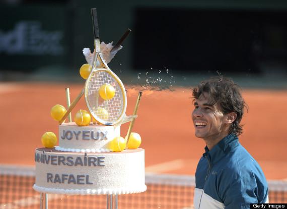 rafael nadal cake
