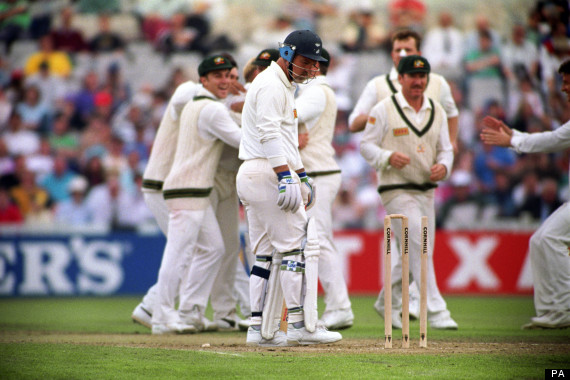 mike gatting ball of the century