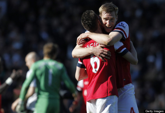per mertesacker laurent koscielny