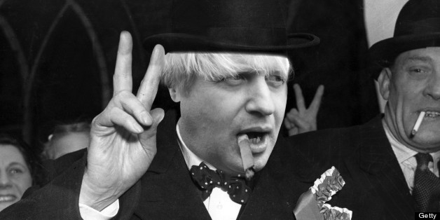Boris is writing a book on Churchill