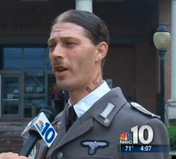 heath campbell father in nazi uniform