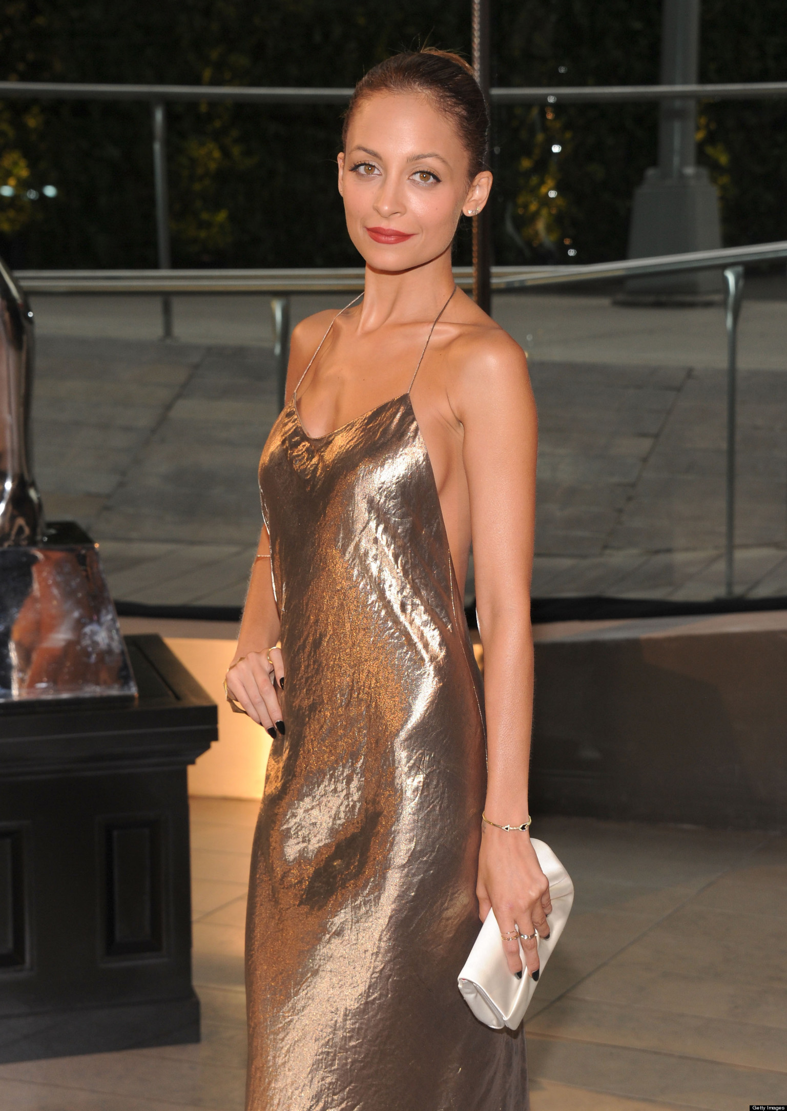 Nicole Richie S Sideboob Hits The Cfda Awards In Nyc