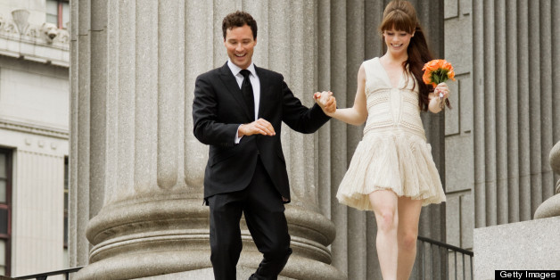 11 Wedding Dresses To Wear To A City Hall Wedding HuffPost