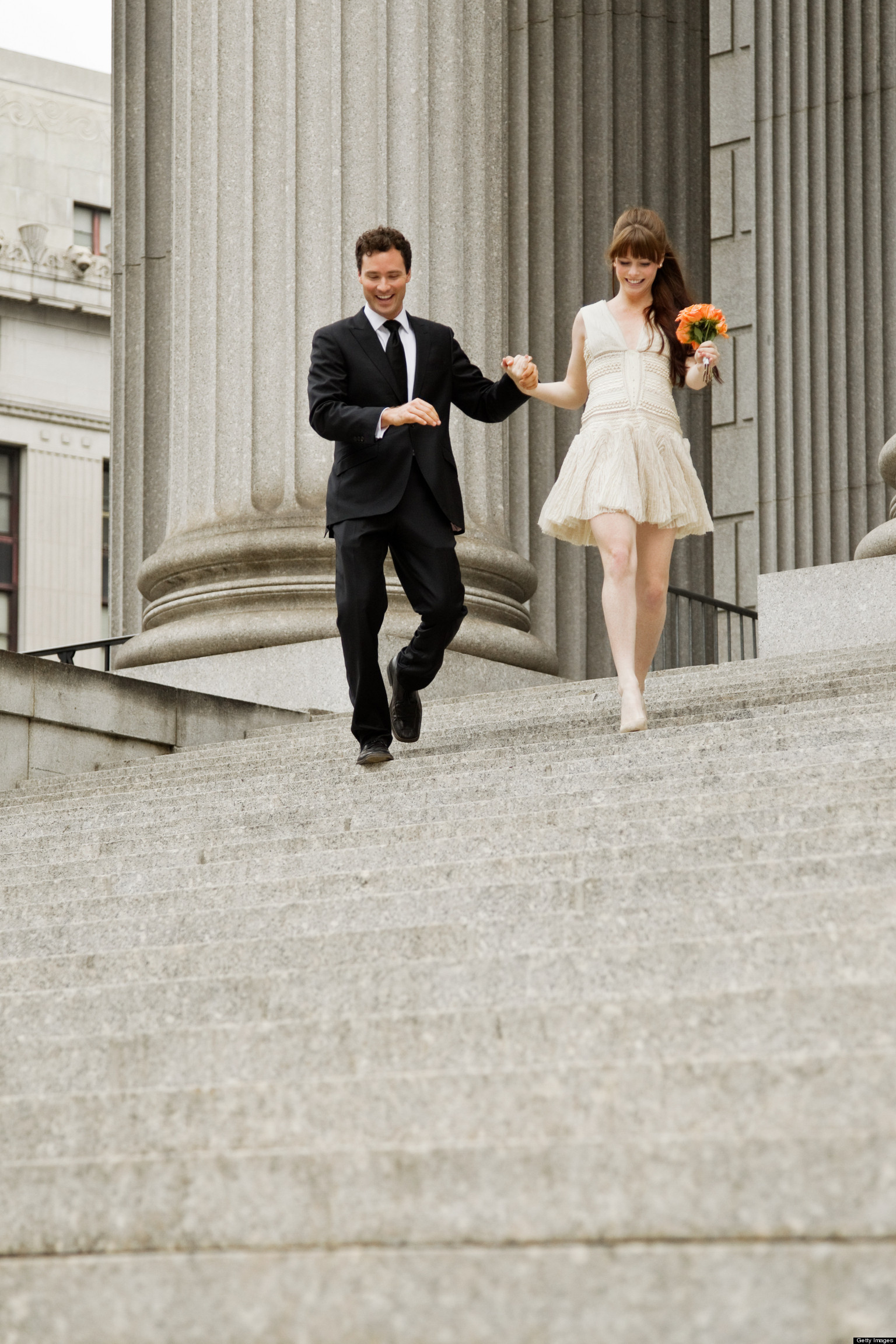 11 wedding dresses to wear to a city hall wedding huffpost for City hall wedding dresses nyc