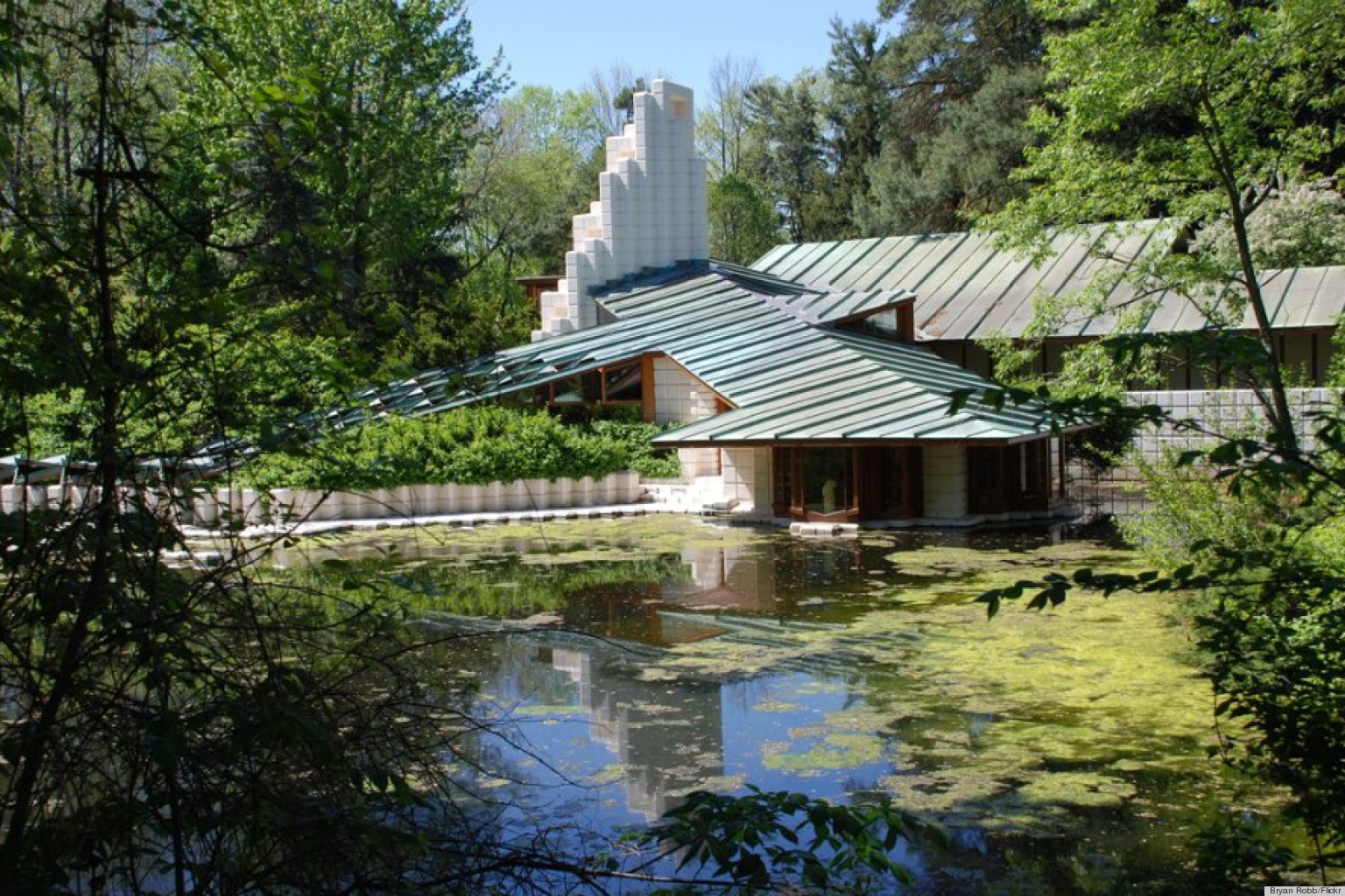 Frank Lloyd Wright, Alden B. Dow And 13 Other Famous Architects' Homes (