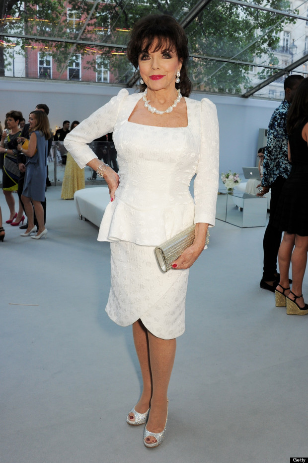 joan collins glamour awards