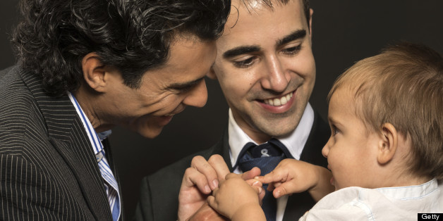 Children brought up by gay couples are healthier and have better relationships with their family