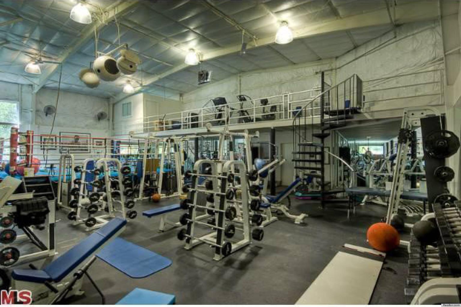 Home Gym Mark Wahlberg