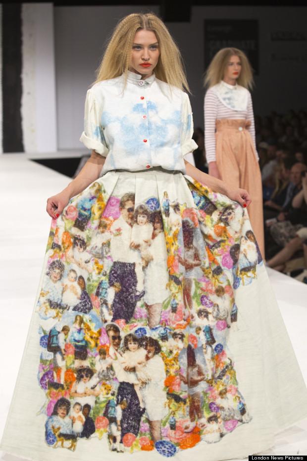 manchester university of art graduate fashion show