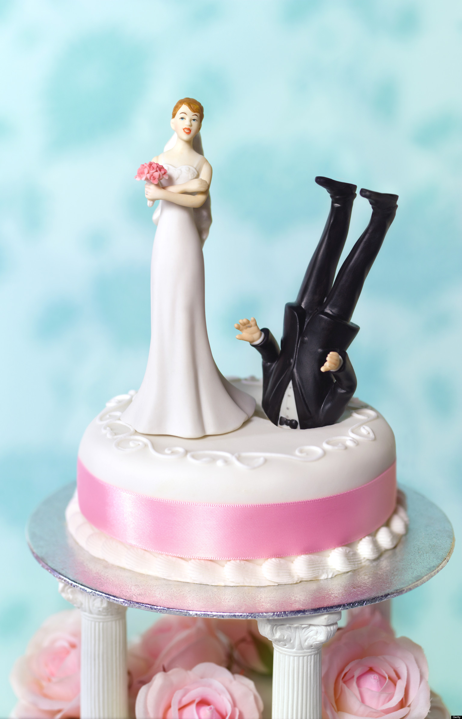 funny divorce what huffpost divorce readers wedding cake toppers