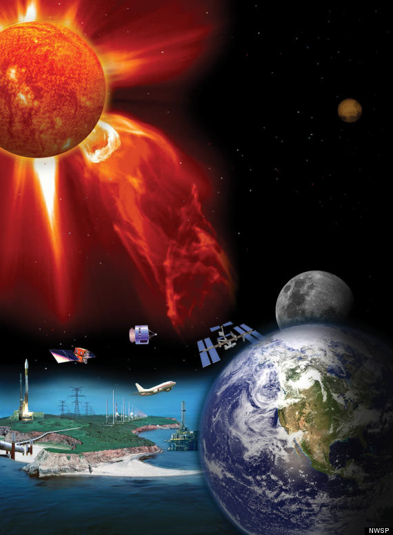 space weather threat