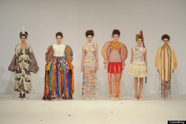salford university graduate fashion week 2013