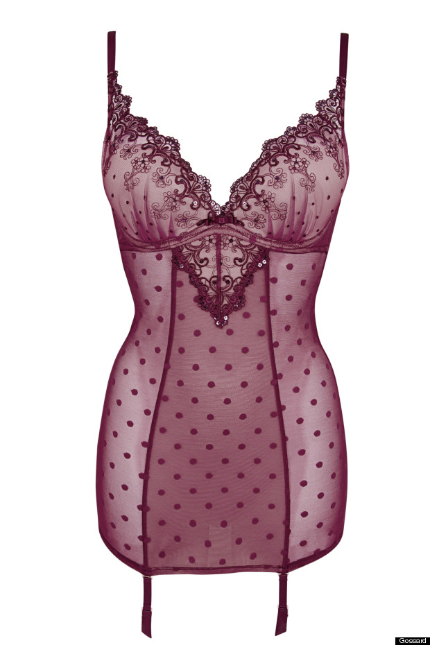 gossard lingerie set