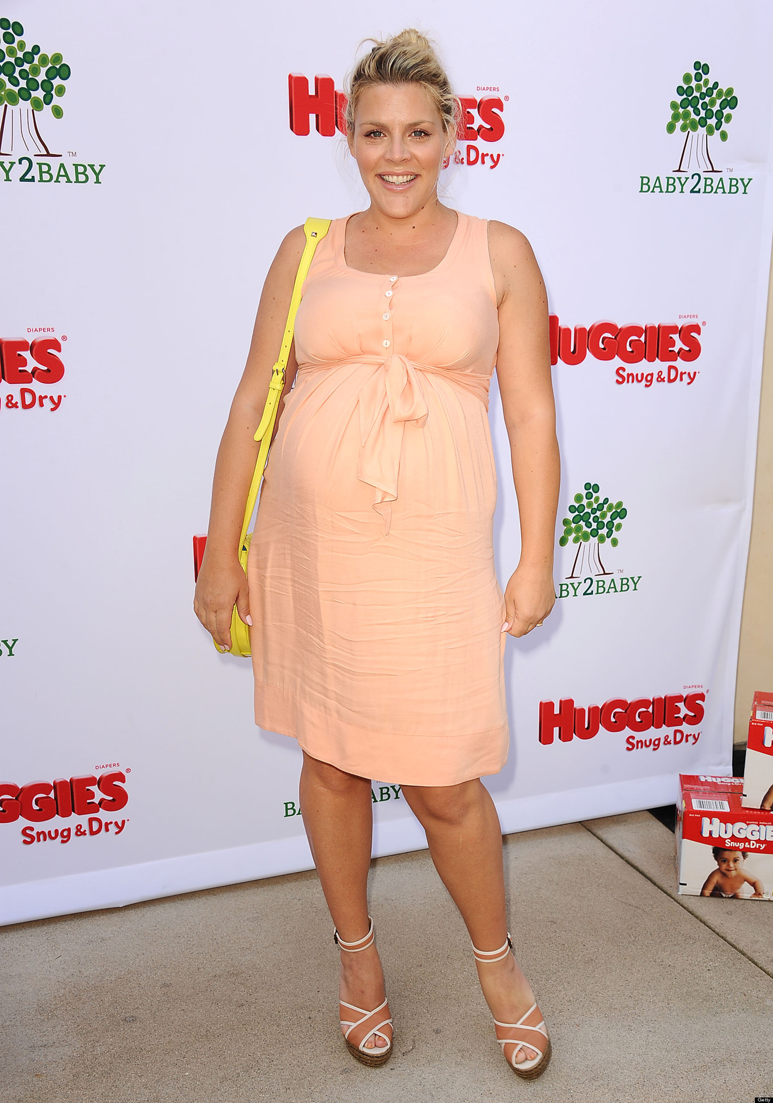 Pregnant Busy Philipps Shares Ultrasound Photo Huffpost