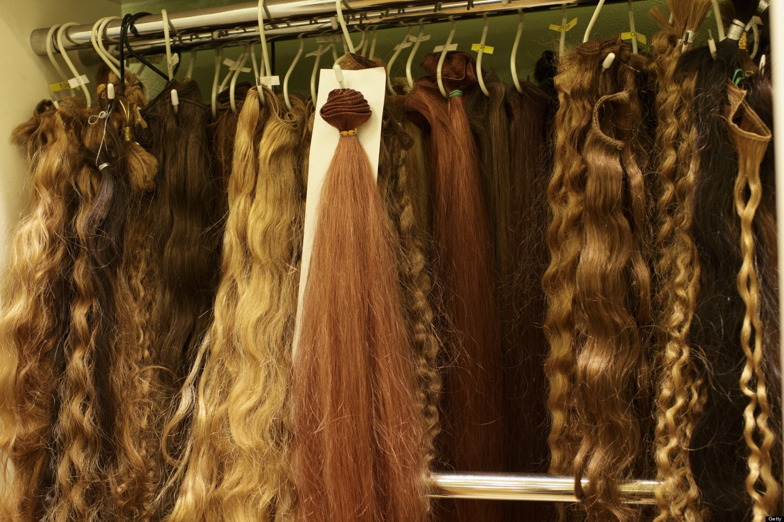Hair Extension Black Market Causing Rash Of Thefts Huffpost