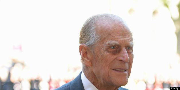 (FILES) - A picture dated June 4, 2013 shows Britain's Prince Philip, husband of Queen Elizabeth II, arriving at Westminster Abbey in London for a service to celebrate the 60th anniversary of the Coronation Service. The 91-year-old husband of Queen Elizabeth II, was admitted to hospital on June 6, 2013 for 'exploratory' surgery and is likely to stay there for two weeks, Buckingham Palace said. AFP PHOTO/Leon Neal        (Photo credit should read LEON NEAL/AFP/Getty Images)