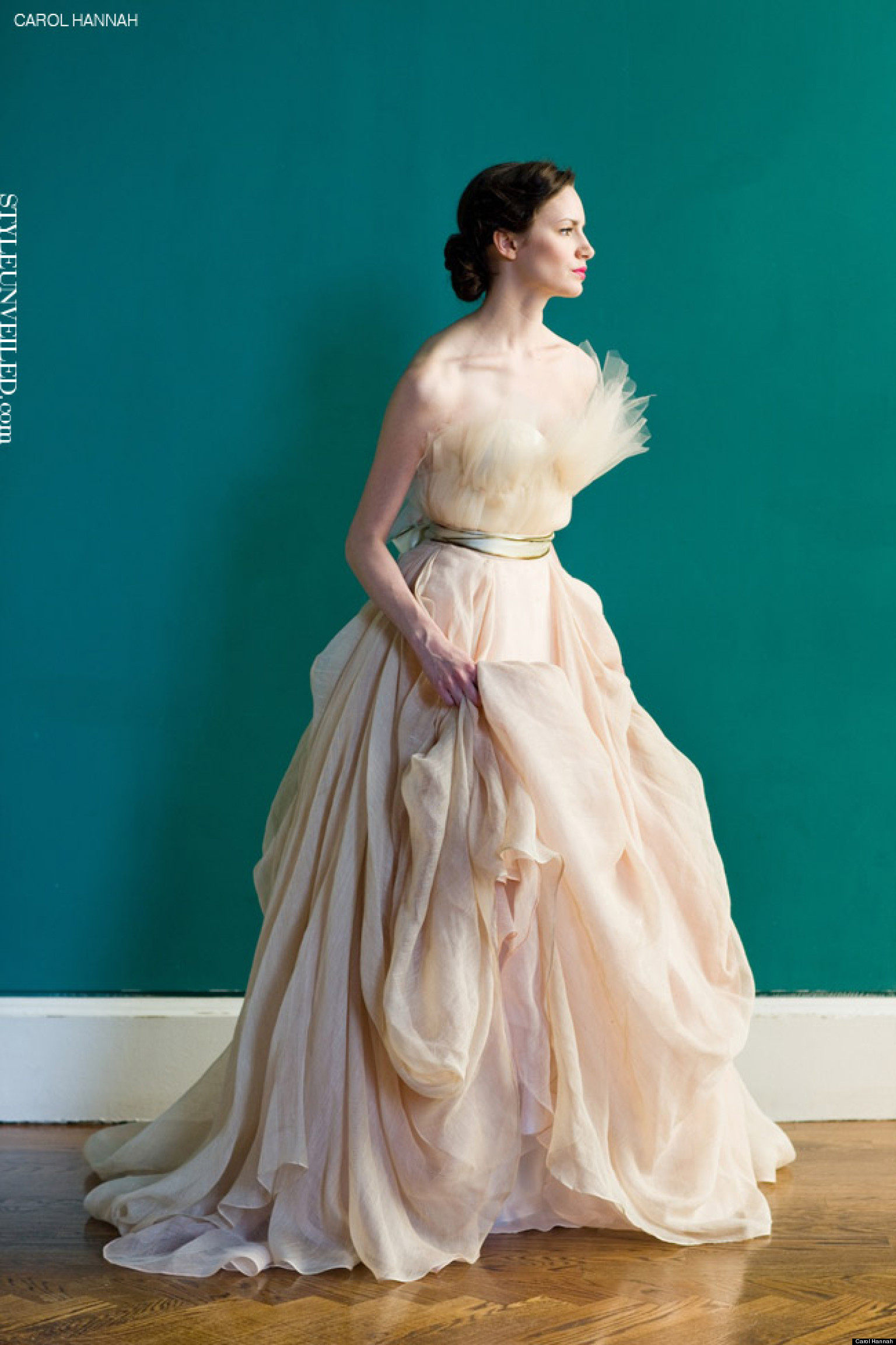 City wedding dresses for chic urban brides photos huffpost ombrellifo Image collections