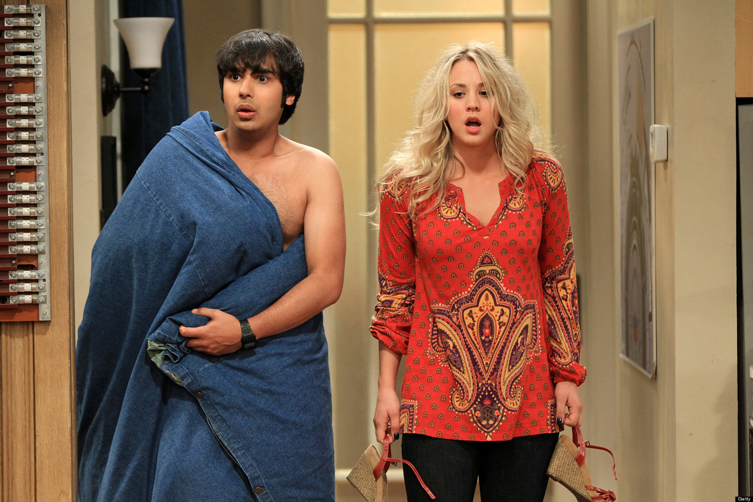 Big bang theory penny black dress