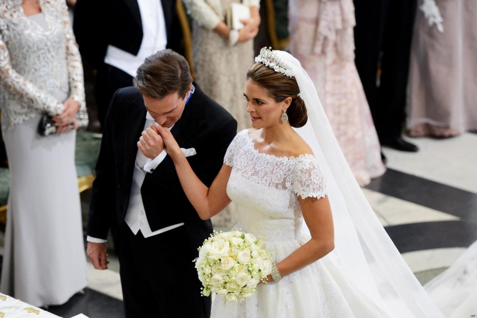 Swedish Royal Wedding See All The Regal Glitz PHOTOS