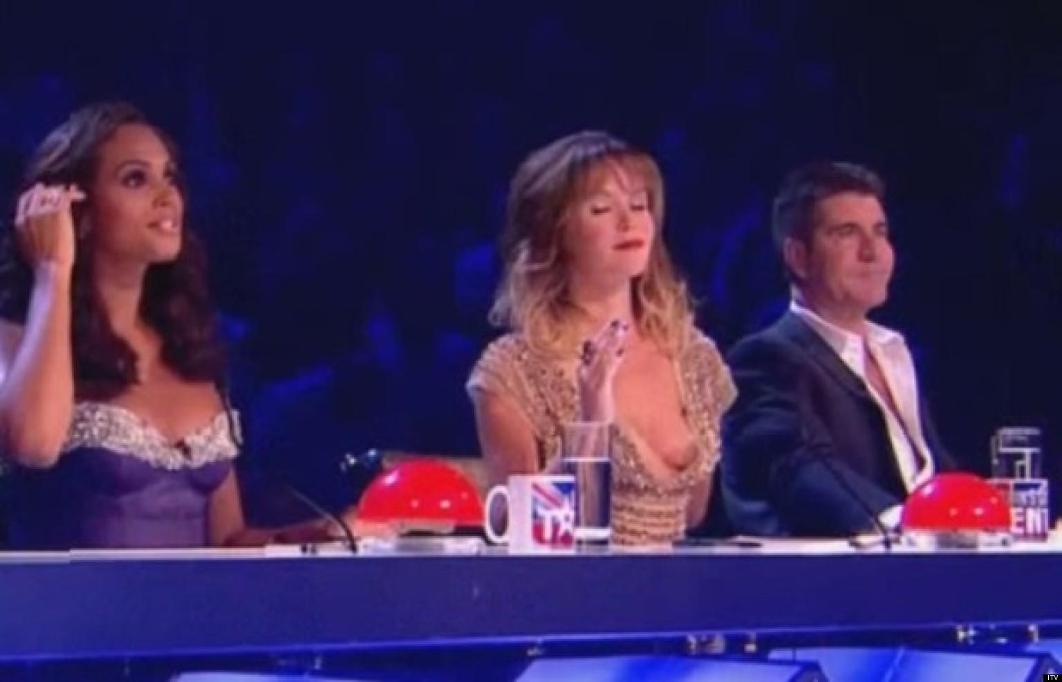 Britains Got Talent: Amanda Holden Suffers Nip Slip