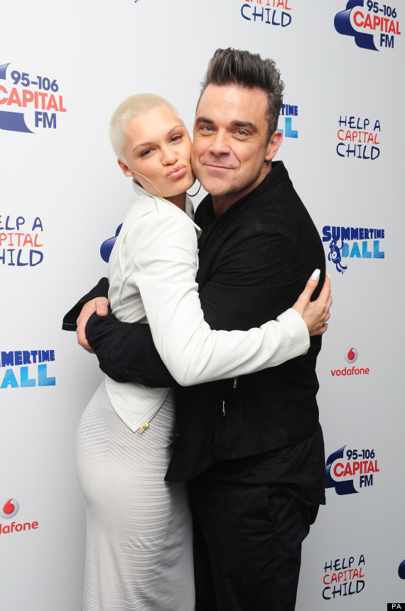 jessie j robbie williams