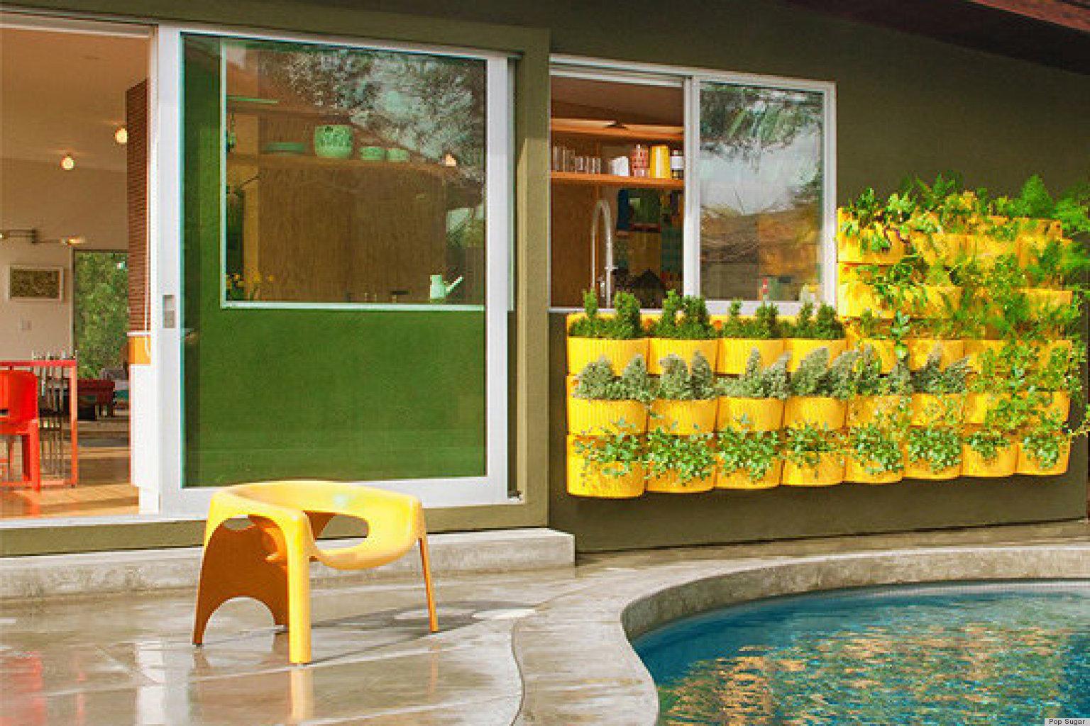 Self-Watering Living Wall Planter | HuffPost