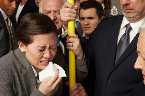 on subway
