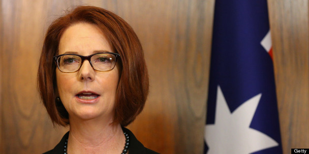 Julia Gillard has attacked a 'sexist' fundraising menu