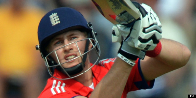 England's Joe Root looks-on as he is caught by Doug Bracewell (not pictured) during the Second One Day International at the Ageas Bowl, Southampton.