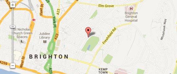 google map gumtree advert lodger brighton