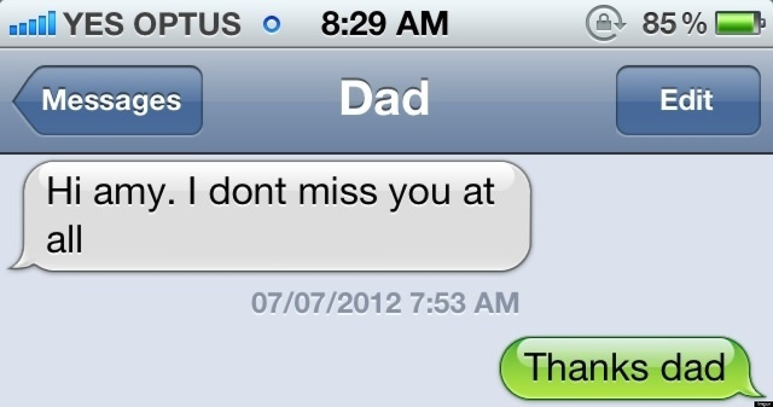 13 funny dad texts to celebrate fathers day pictures huffpost m4hsunfo