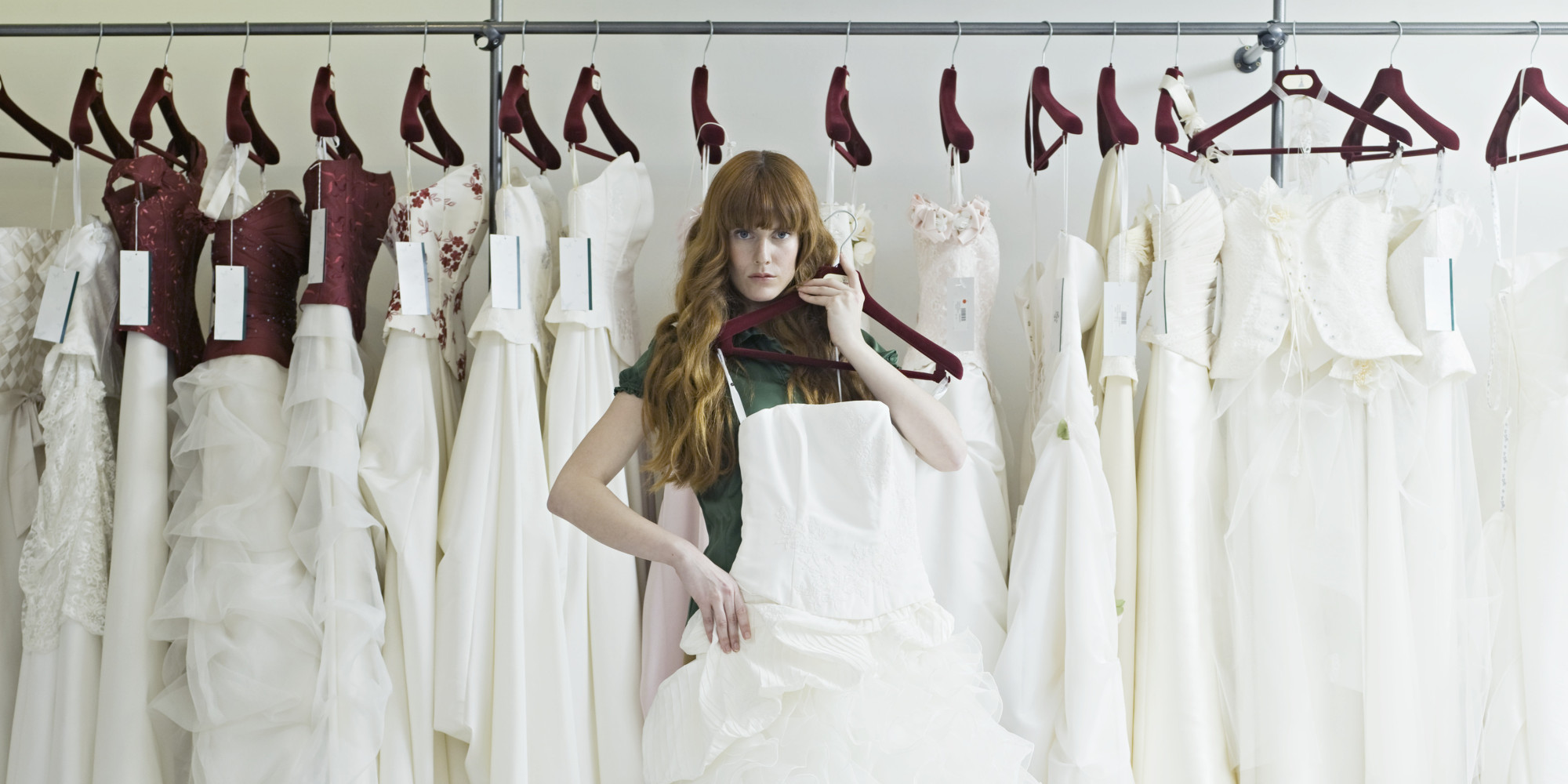 What not to do when picking out a wedding dress huffpost ombrellifo Gallery